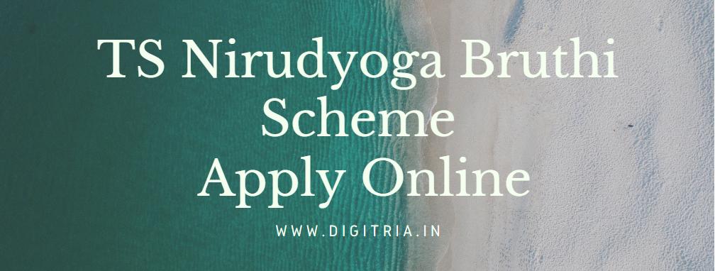 TS Nirudyoga Bruthi Scheme