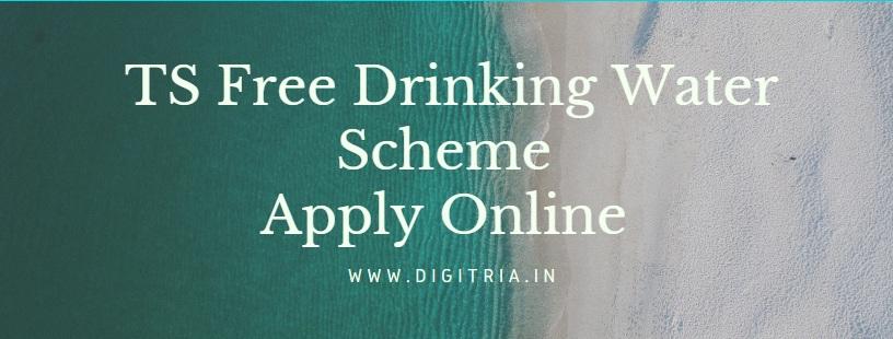TS Free Drinking Water Scheme