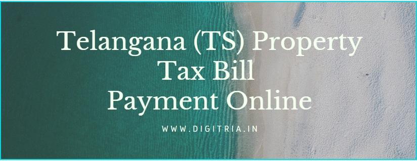 Telangana (TS) Property Tax Bill Online Payment