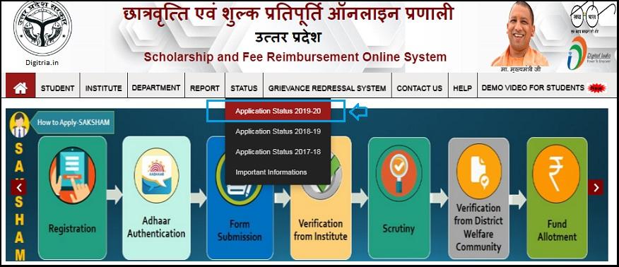 Application Status 2020-21