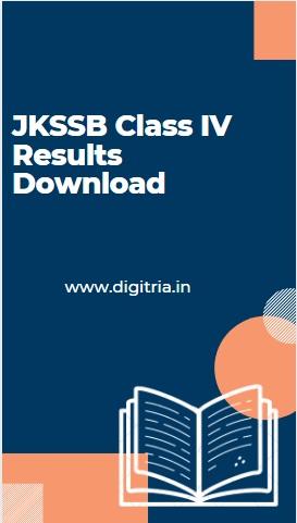JKSSB Class IV Results