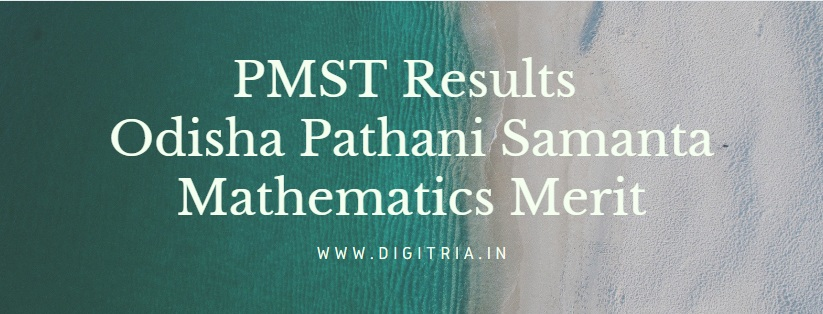 PMST Results