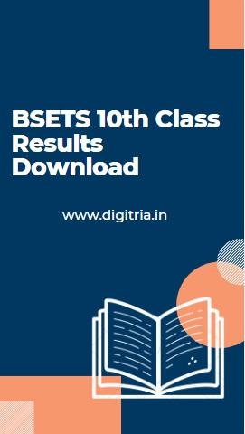 Eenadu BSETS 10th Class Results