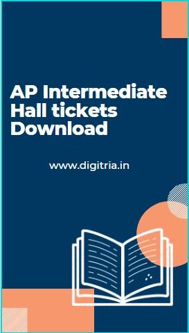 Manabadi BIEAP Inter hall tickets