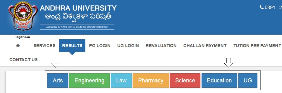 Select the Stream to obtain the AU Degree Revaluation Results