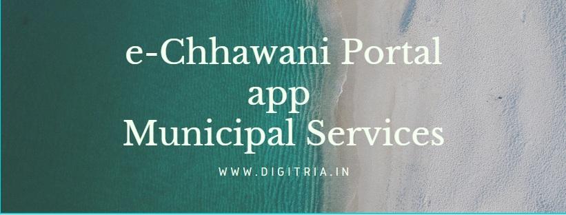 e-Chhawani Portal app