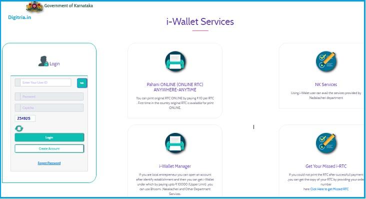 i wallet services
