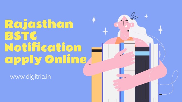 Rajasthan BSTC Online form