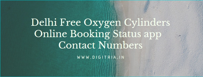Delhi Free Oxygen Cylinders