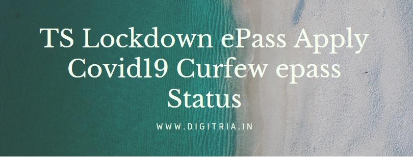 TS Lockdown ePass