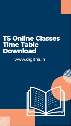 TS Online Classes Time Table