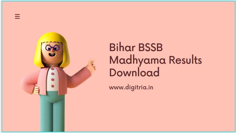 BSSB Madhyama Results