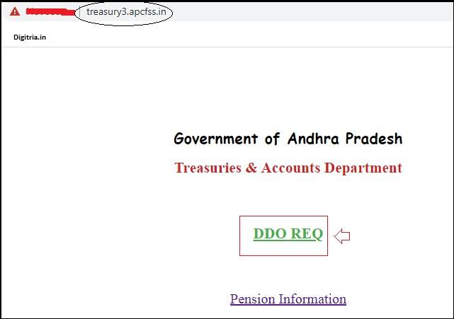 Click on DDO Req