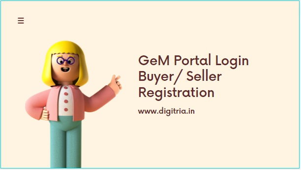 GeM Portal Login
