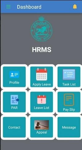 HRMS Odisha Dashboard