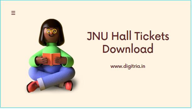 JNU Hall Ticket