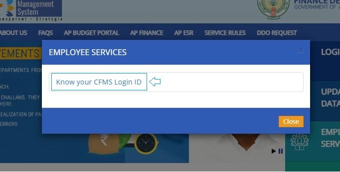 Know your CFMS Login ID.