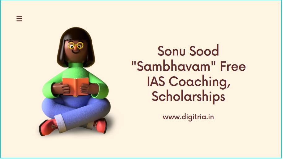 Sonu Sood Sambhavam Free IAS Coaching