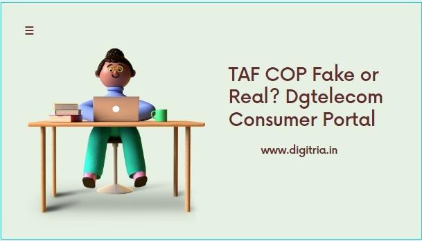 TAF COP Fake or Real?