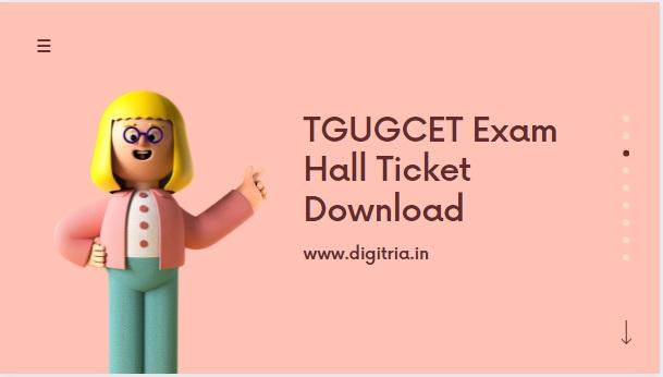 TGUGCET Hall ticket