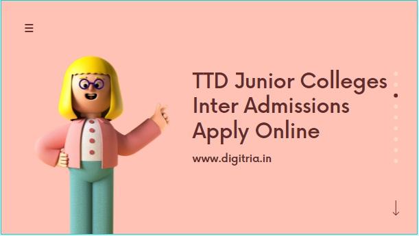 TTD Junior College admissions