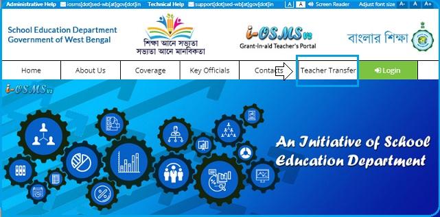 click on teacher transfer