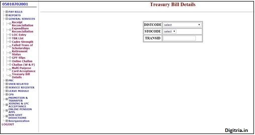 treasury bill details