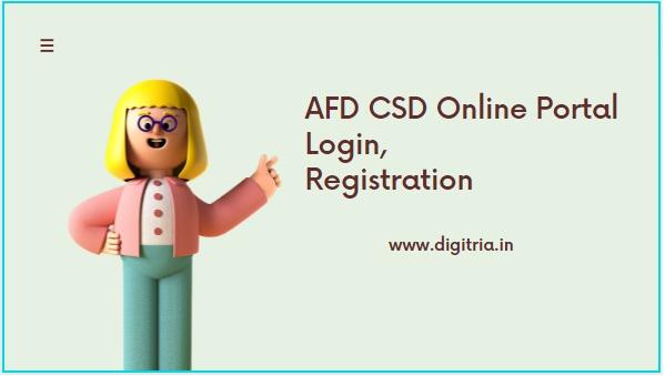 AFD CSD Login