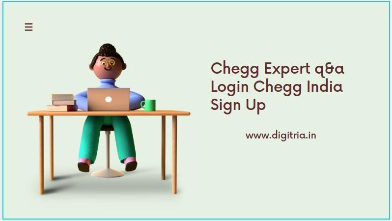 Chegg expert q&a Login