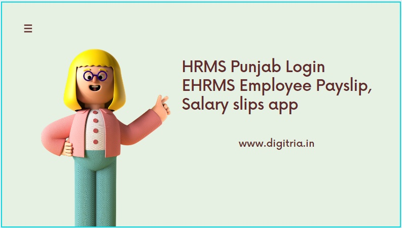HRMS Punjab Login