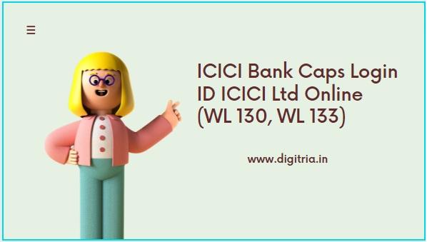 ICICI Bank Caps Login