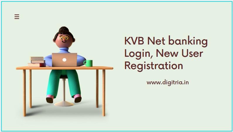 KVB netbanking Login