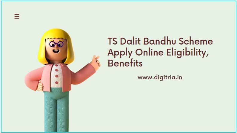 TS Dalit Bandhu Scheme