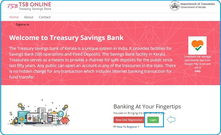 TSB Online Banking Login