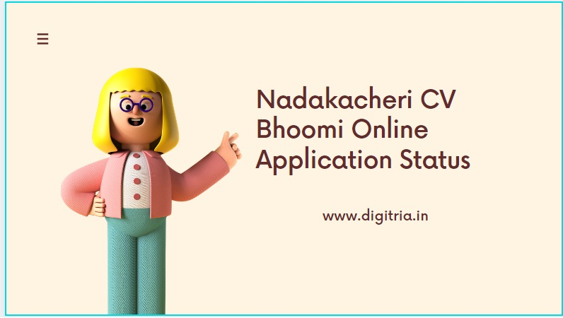 Nadakacheri CV Page Bhoomi Online
